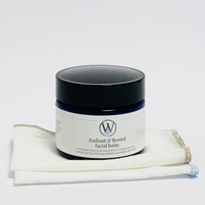 Radiant & Rested facial balm