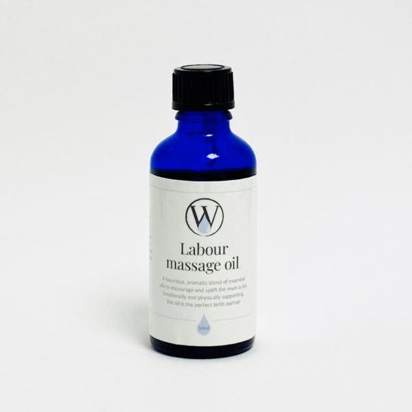 Labour massage oil