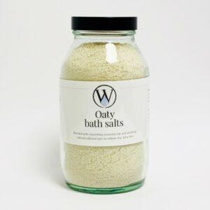 Oaty bath salts